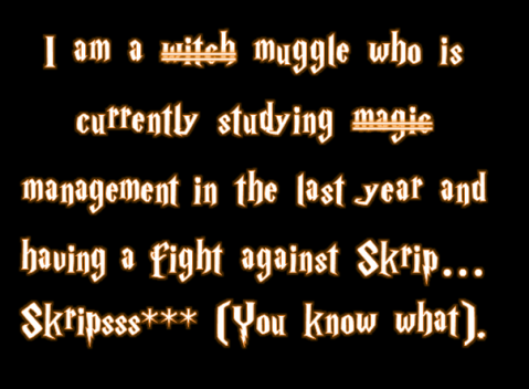 I am muggle (Not a witch)