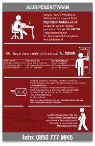 Detail Pendaftaran Ujian Universitas Bakrie